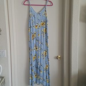 Forever 21+ floral maxi dresd